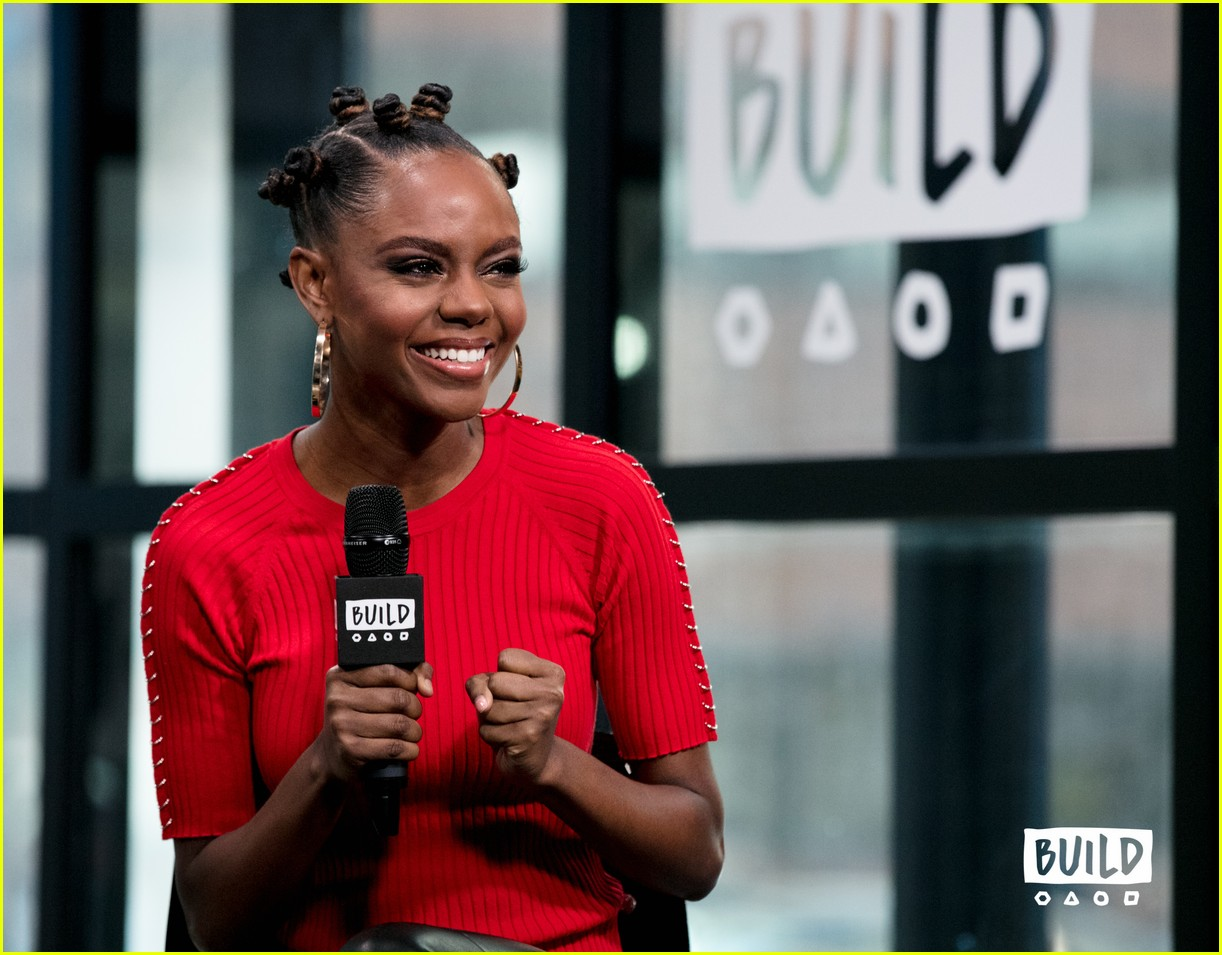 ashleigh murray aol studios nyc 20
