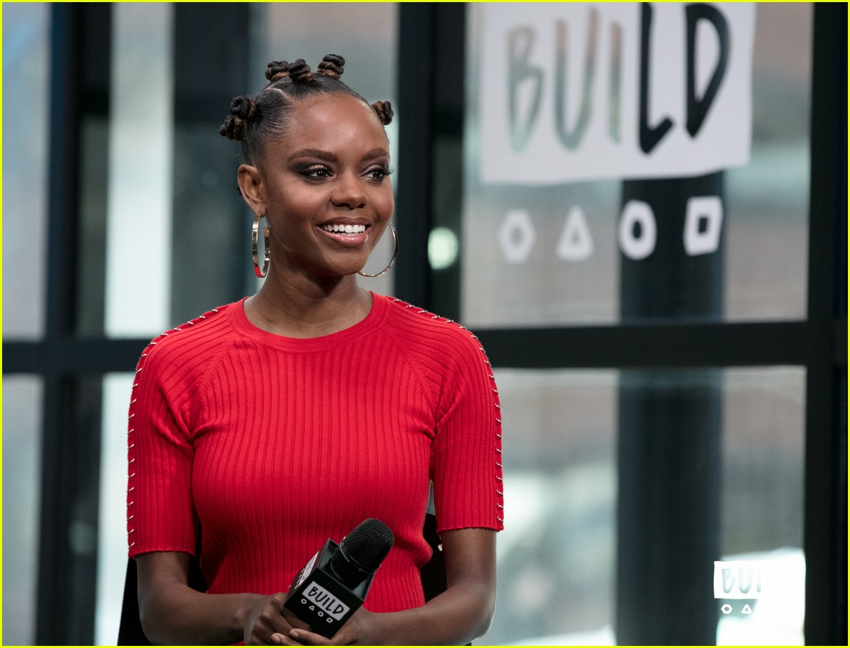 ashleigh murray aol studios nyc 21