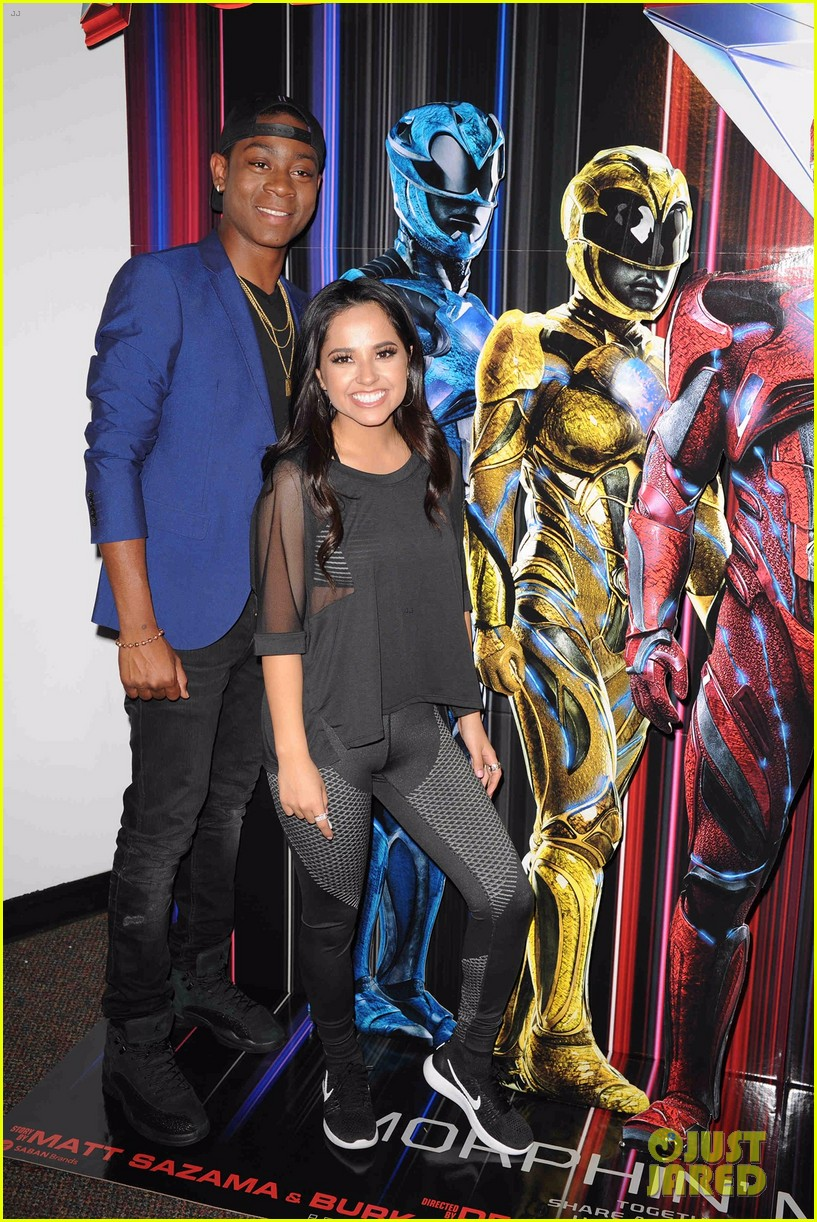becky g cried over power rangers 03