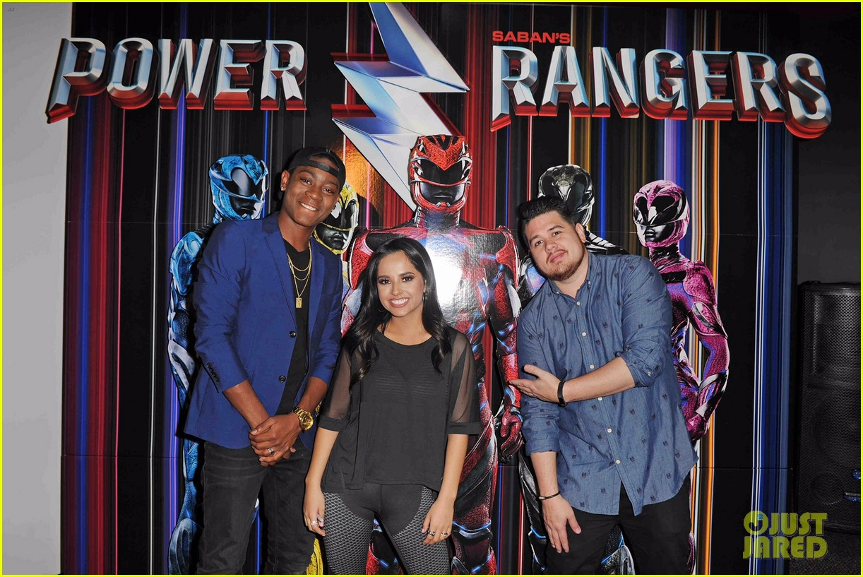 becky g cried over power rangers 05
