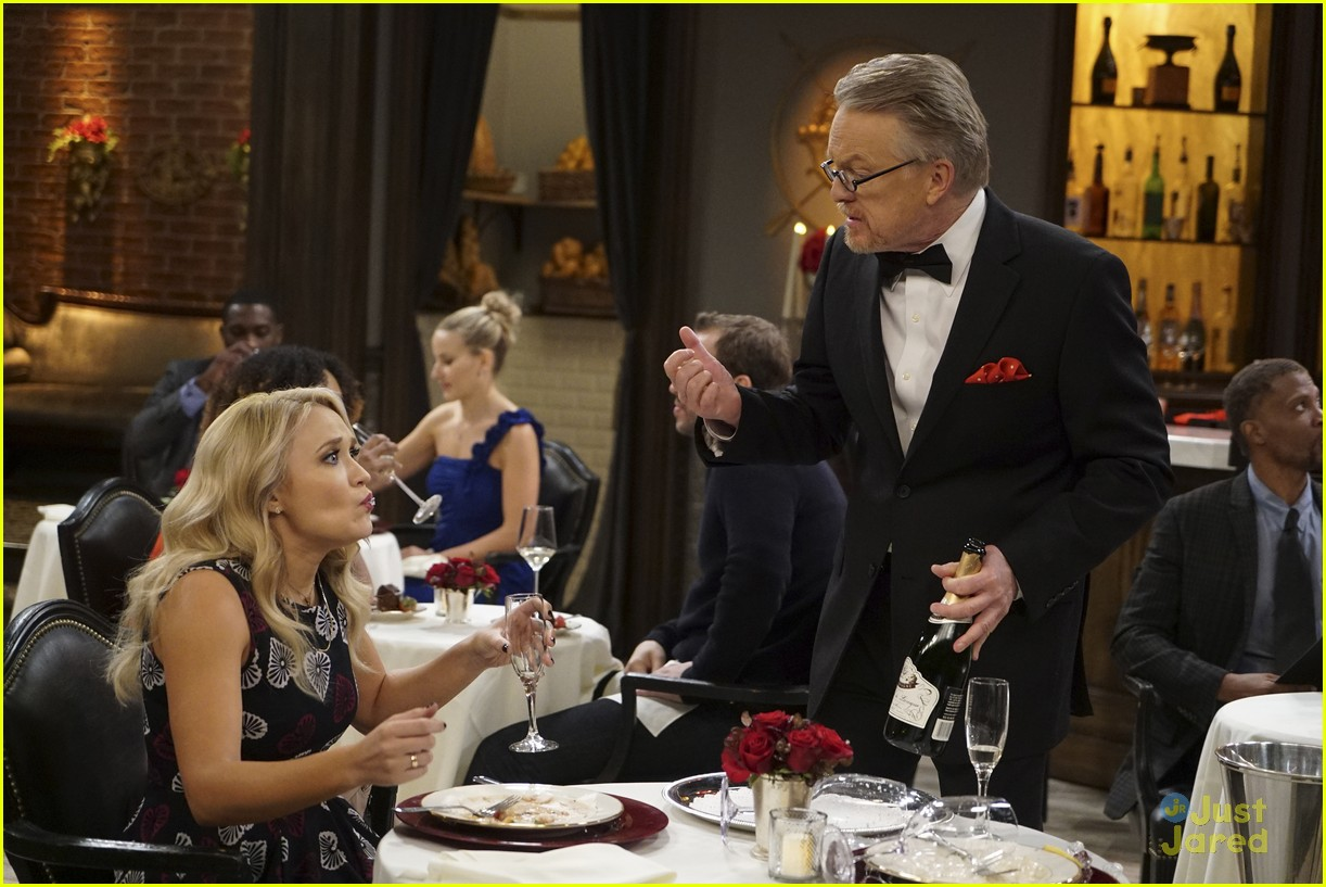 emily osment wedding dress episode betty white young hungry 20
