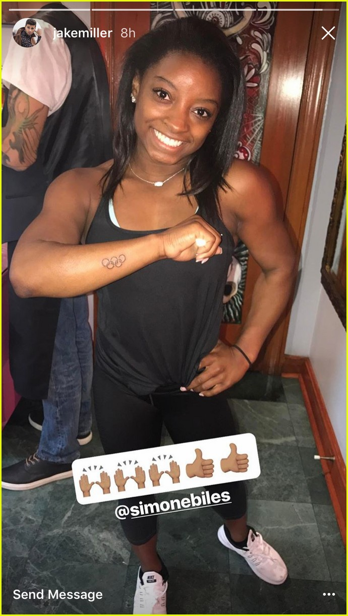 jake miller simone biles neighbors tattoos 01
