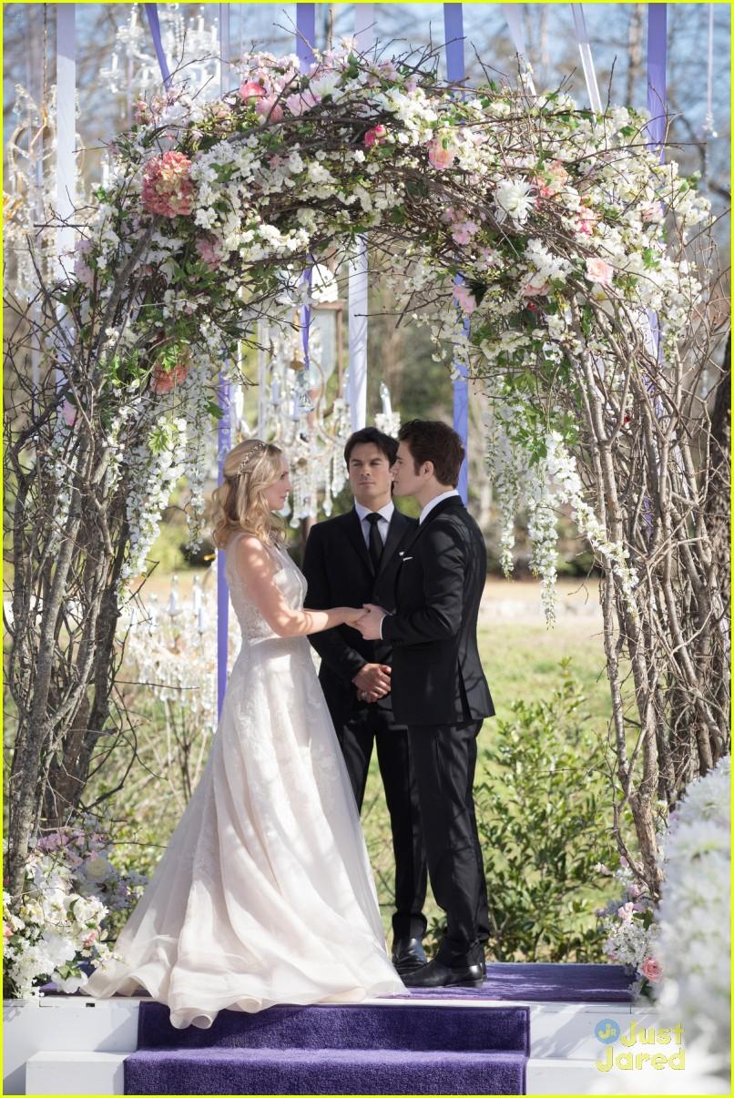 Read Stefan Amp Carolines Wedding Vows On The Vampire Diaries Steroline