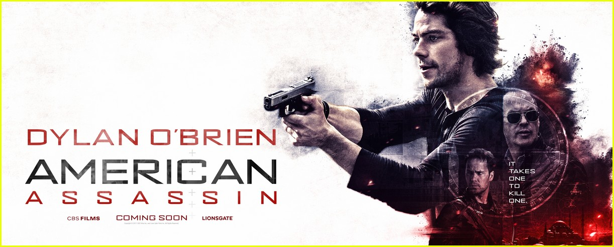 dylan obrien american assassin character poster 01
