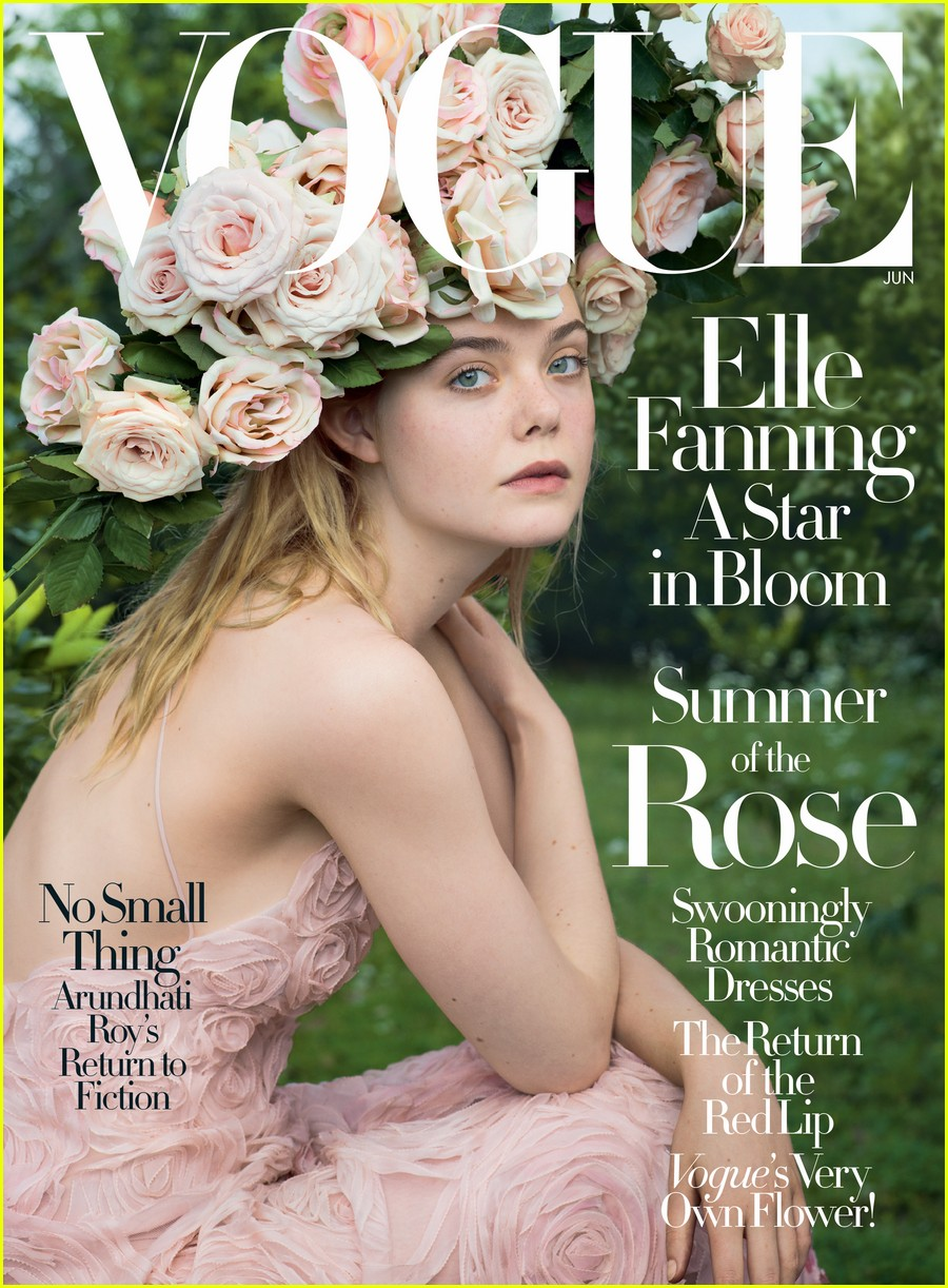 elle fanning vogue june 2017 02