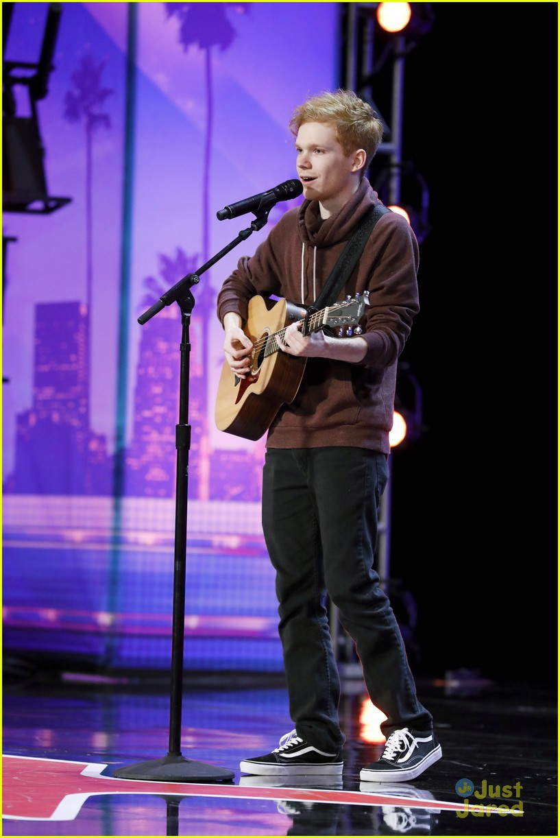 chase goehring ed sheeran vibes agt 02