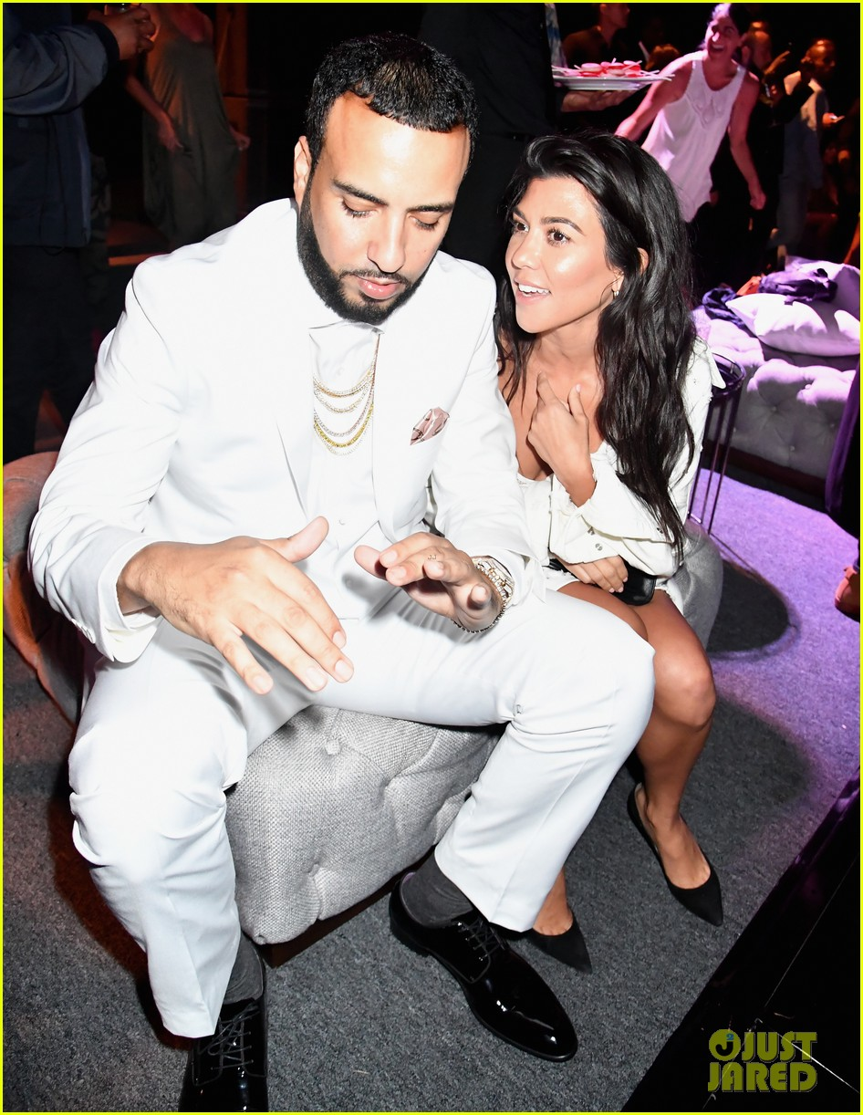 French Montana Spotted Serenading Khloe Kardashian During All-Star Weekend
