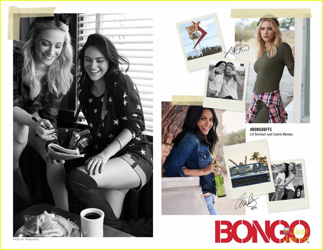 lili reinhart camila mendes bongo fashion campaign debut 02