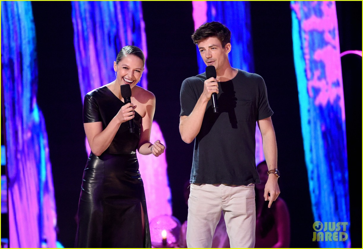 grant gustin melissa benoist teen choice awards 2017 11