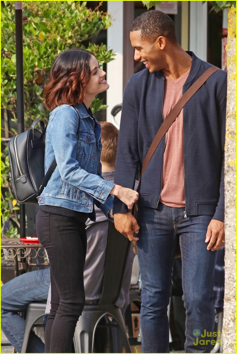 lucy hale elliot knight kisses life sentence 05