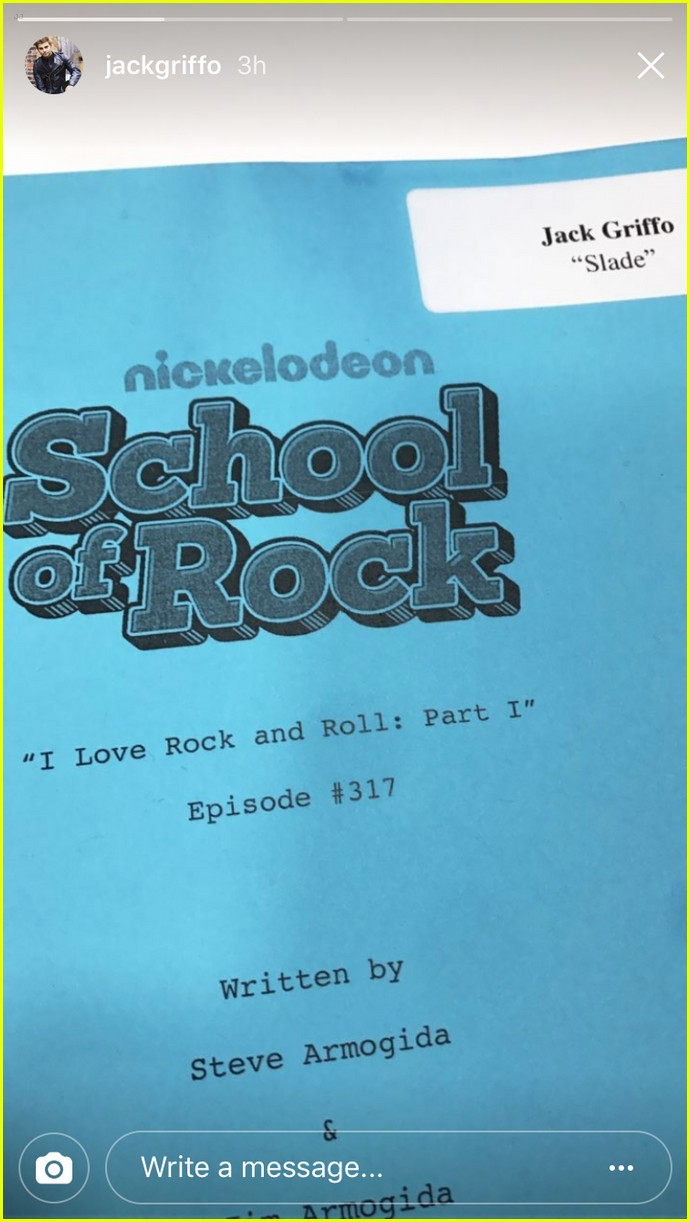 jake griffo slade school rock guest star 01