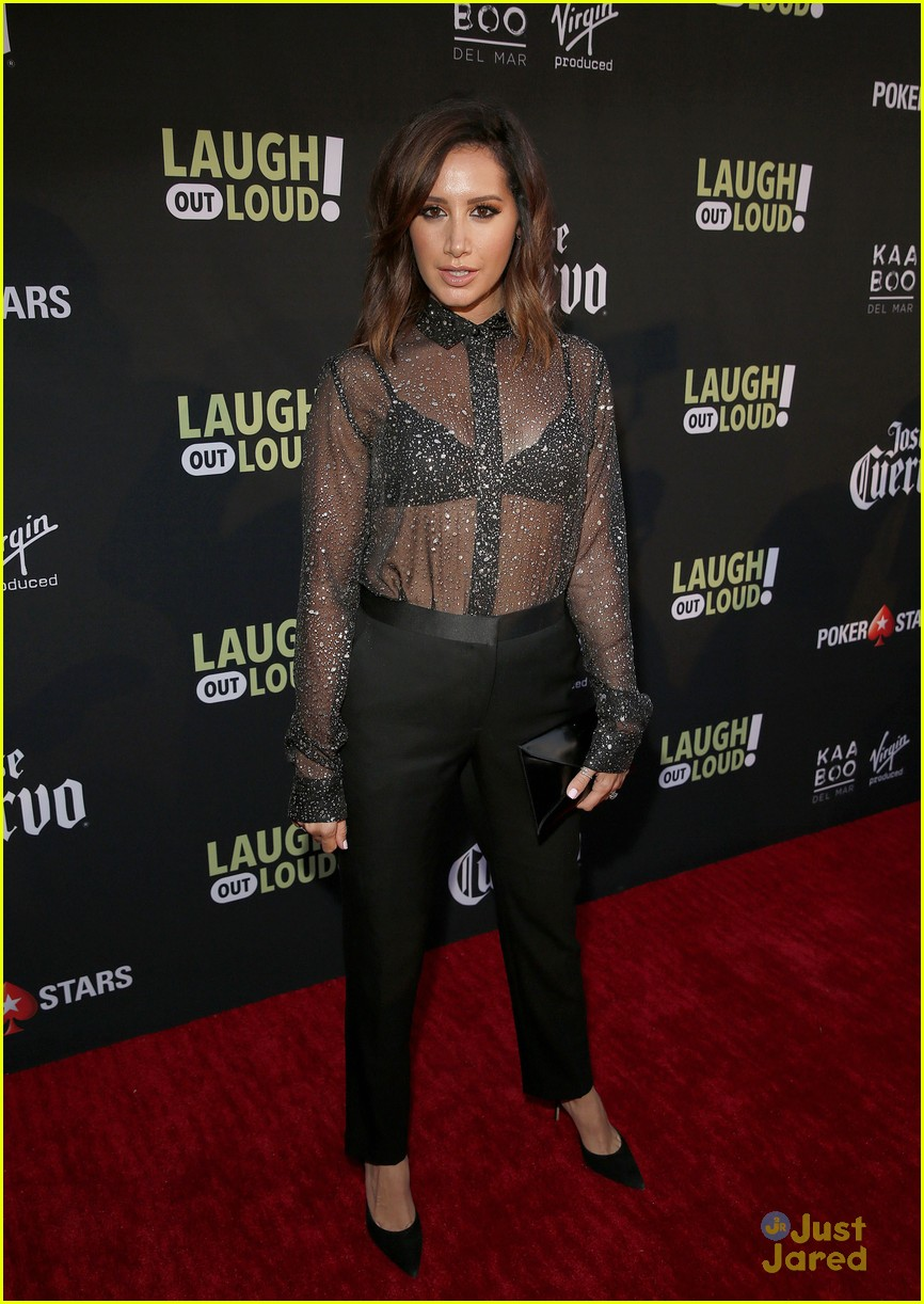 ashley tisdale health film laugh event 01