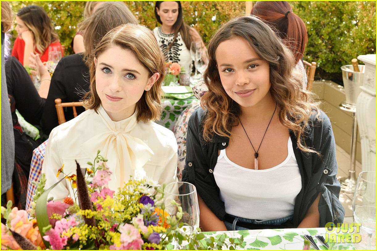 danielle panabaker alisha boe and shannon purser team up for glamour event 05