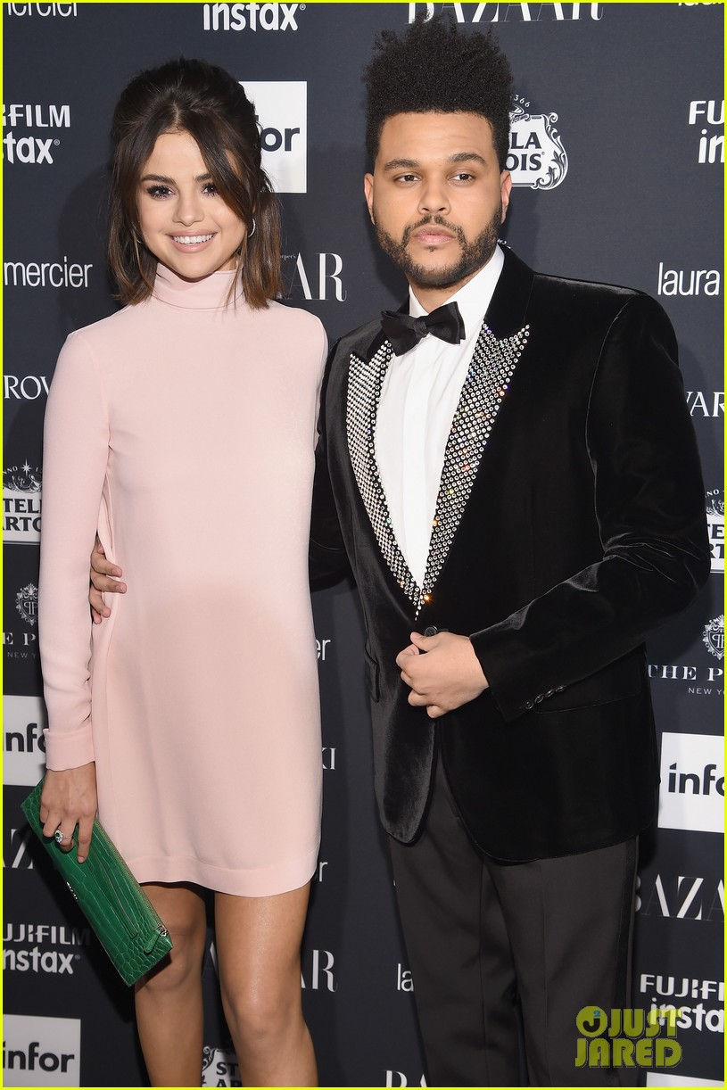 selena gomez the weeknd couple up harpers bazaar 03