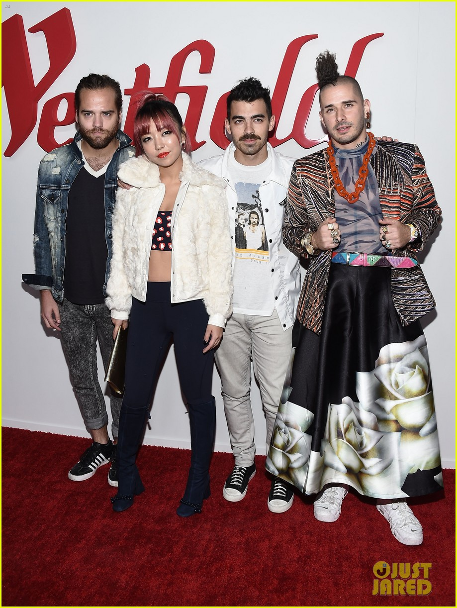 dnce william and more celebrate westfield century city reopening 01
