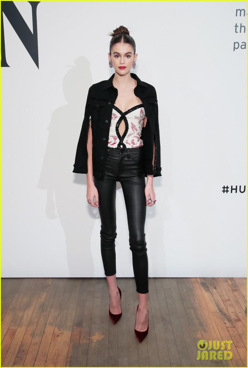 kaia gerber celebrates her hudson jeans collaboration 01