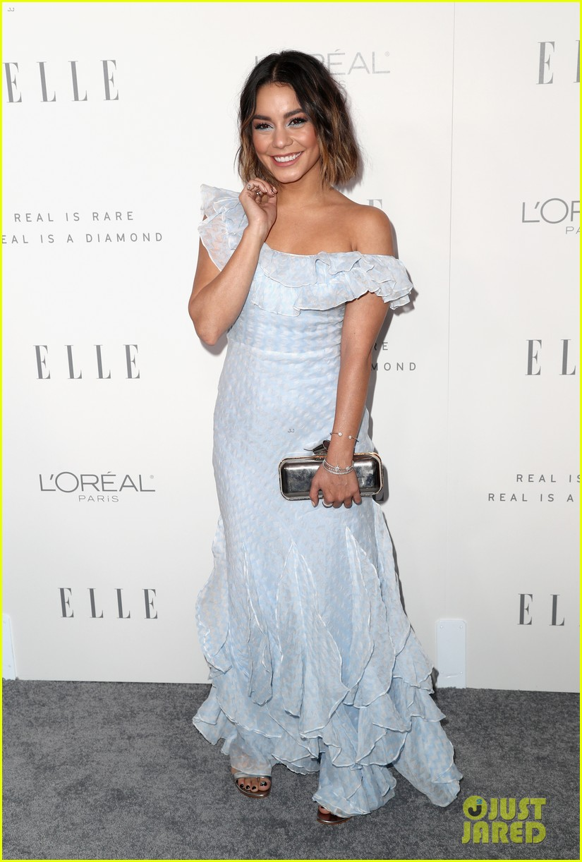 vanessa hudgens and nina dobrev are beauties in blue at elle women in hollywood event 04