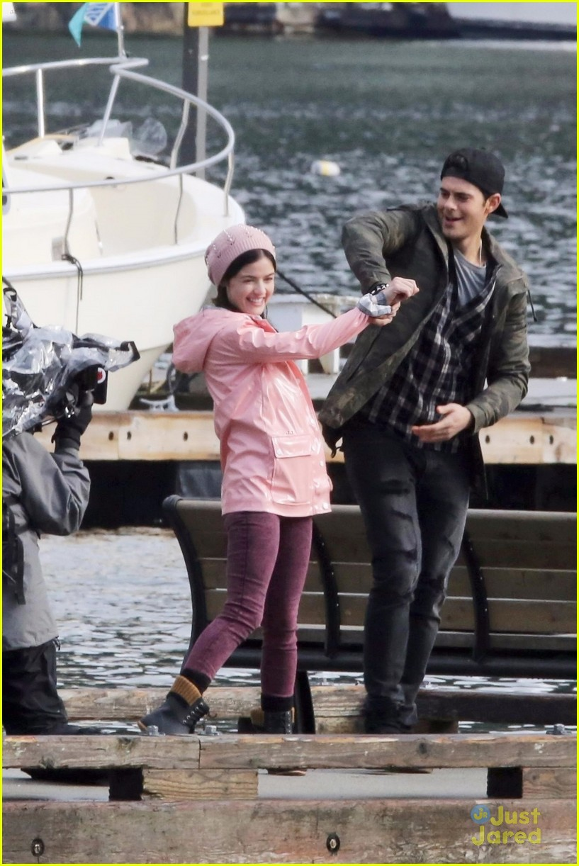 lucy hale jayson blair pick up life sentence filming 02