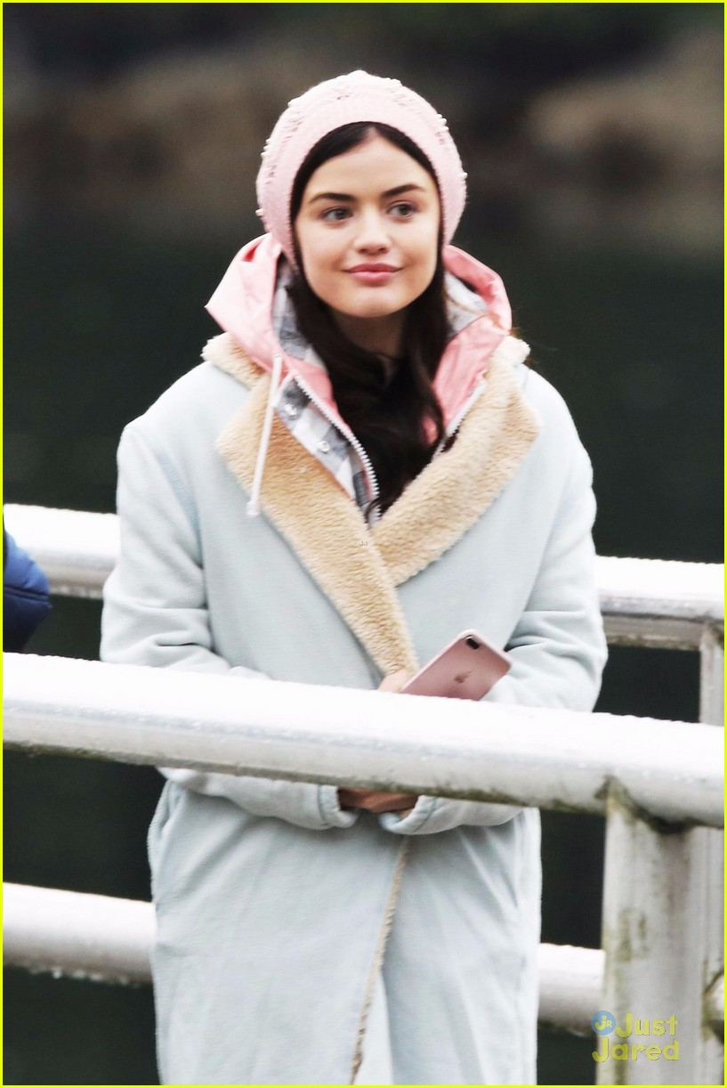 lucy hale jayson blair pick up life sentence filming 03