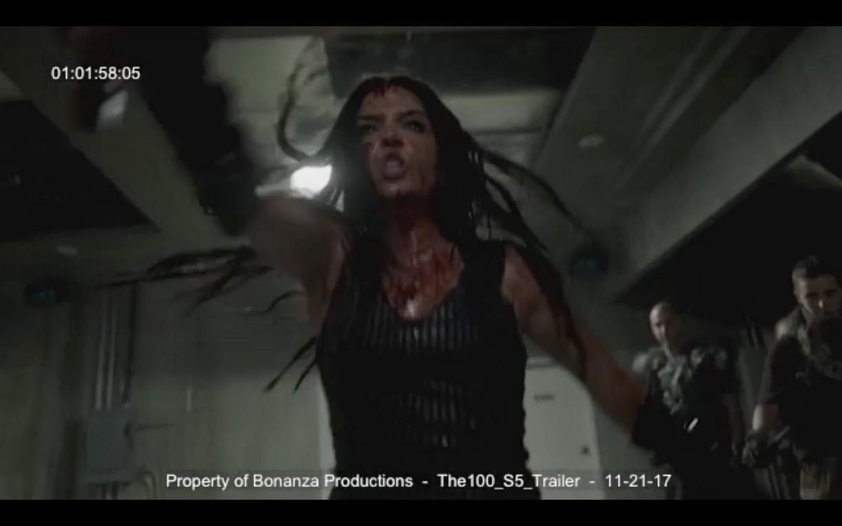 100 Season Teaser Images 02 Demi Lovato Poster