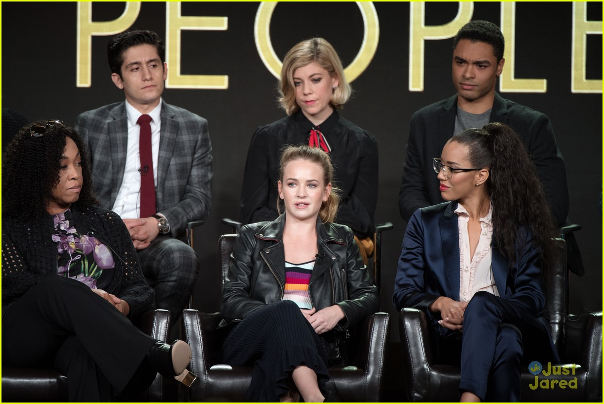 'For The People' Showrunner Explains Why Britt Robertson's ...